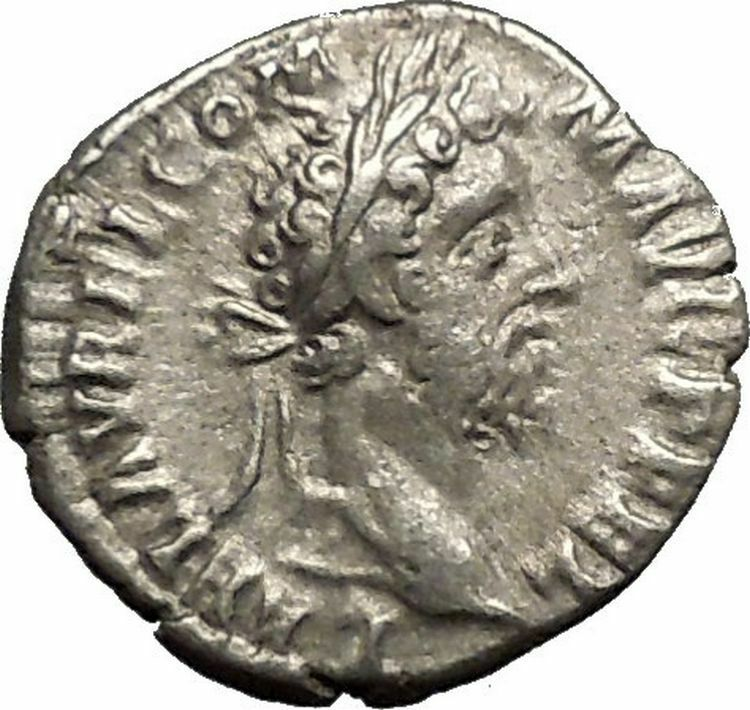 Commodus son of Marcus Aurelius Silver Ancient  Roman Coin Victory Cult  i52927 2