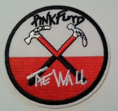 """Pink Floyd~The Wall~""""Hammers""""~Embroidered Patch~3"""" Round~Iron Sew On~Ships FREE 2"""