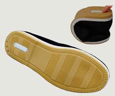 Kung Fu Schuhe Wing Tsun Qi Gong Tai Chi Segeltuch Classic Slipper Gummisohle
