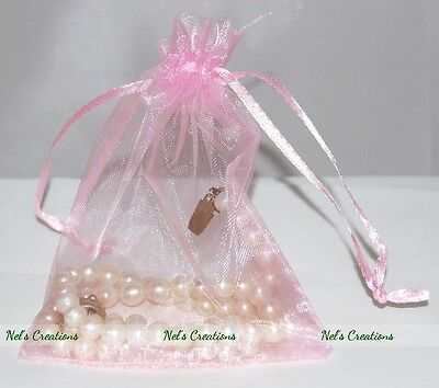 Organza Bag Sheer Bags Jewellery Wedding Candy Packaging Beads Gift 100 /50 / 25 11