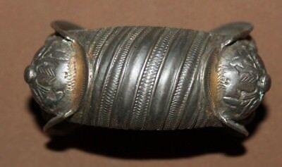Antique Greek Orthodox silver plated fertility bracelet