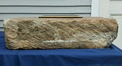 ANTIQUE ARCHITECTURAL USA WHITE HOUSE 1790s AQUIA CREEK VA SANDSTONE ARTIFACT 4