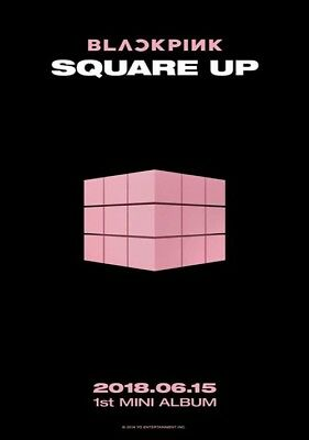 BLACKPINK-[Square Up]1st Mini Album Black CD+Book+Lyrics+Selfie+Card+Gift 7