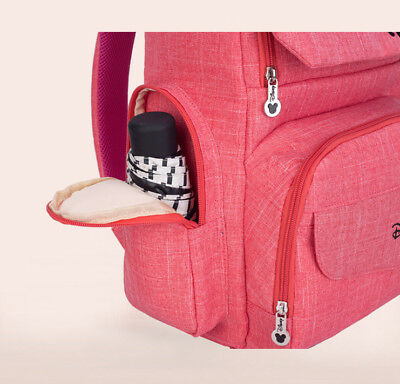 DISNEY Mickey Minnie Baby Maternal Stroller Maternity Nappy Bag 5