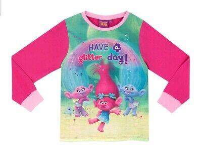 Brand New Trolls Pyjamas Age 5-6 3