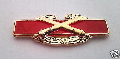 ARMY HAT PIN COMBAT ARTILLERY BADGE