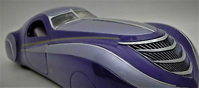 Art Deco Antique Vintage Metal Sport Car InspiredBy Duesenberg 1930s 1940s Rare