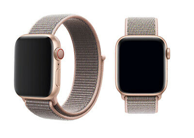 Woven Nylon Band For Apple Watch Sport Loop iWatch Series 4/3/2/1 38/42/40/44mm 8