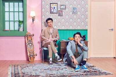 EXO-SC[What A Life]1st Unit Mini Album CD+2p Poster+Booklet+Card+Post+Tag+Gift 4