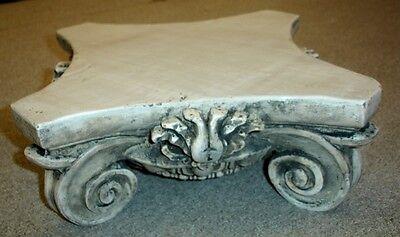 "14"" Greek Roman Ionic Capital Scamozzi Ionian Riser Column 2"