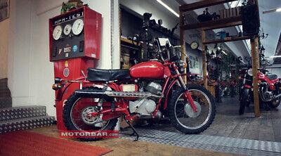 Moto Guzzi Stornello Scrambler Oldtimer Motorrad 1976 2