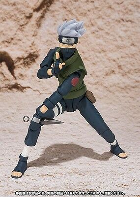 S.H.Figuarts Naruto Shippuden Hatake Kakashi Action PVC Figure Toy New In Box 3