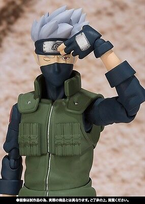 S.H.Figuarts Naruto Shippuden Hatake Kakashi Action PVC Figure Toy New In Box 7