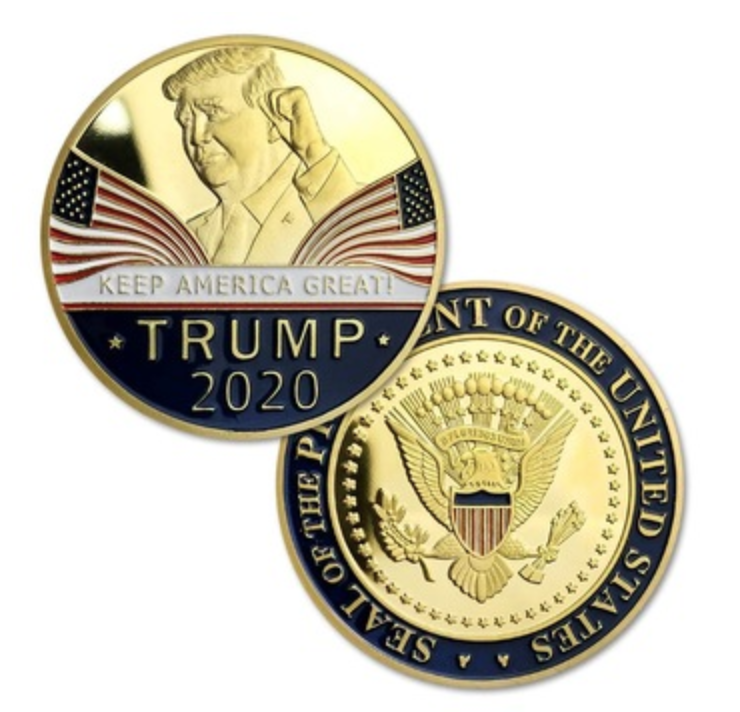 Donald Trump 2020 Keep America Great Commemorative Challenge Coin 3