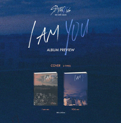 STRAY KIDS [I AM YOU] 3rd Mini Album YOU Ver CD+PhotoBook+3p Card+Pre-Order+GIFT 5