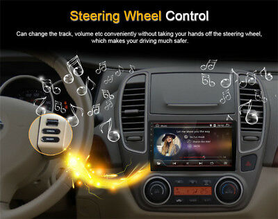 """Android 8.1 Double 2Din 10.1"""" HD Quad-Core Car Stereo Radio GPS Wifi Mirror Link 8"""