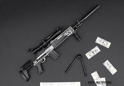 1/6 MK14 PUBG BattleField Gun MOD0 Sniper Rifle Modern Warfare 21cm on sale
