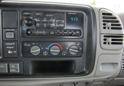 GM GMC CHEVY PICKUP TRUCK POCKET RADIO DASH KIT CAR STEREO STORAGE CUBBY