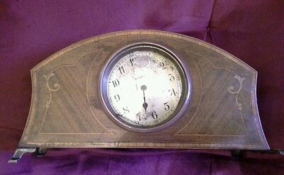 8 day rosewood mantel clock 2