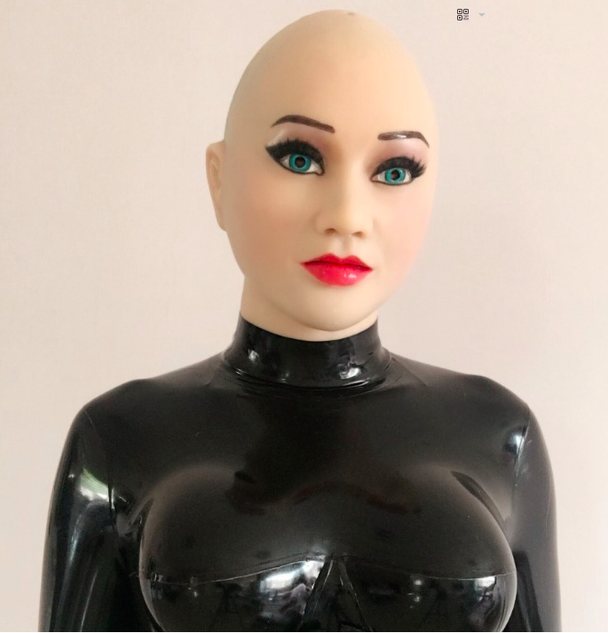 MASKINGDOLLS Sexy Female Latex Medical Silicone Rubber Mask Masken Puppen 11