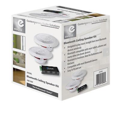 Boxen Für Badezimmer | 2x 13cm Deckenlautsprecher Bluetooth Funk Lautsprecher Boxen