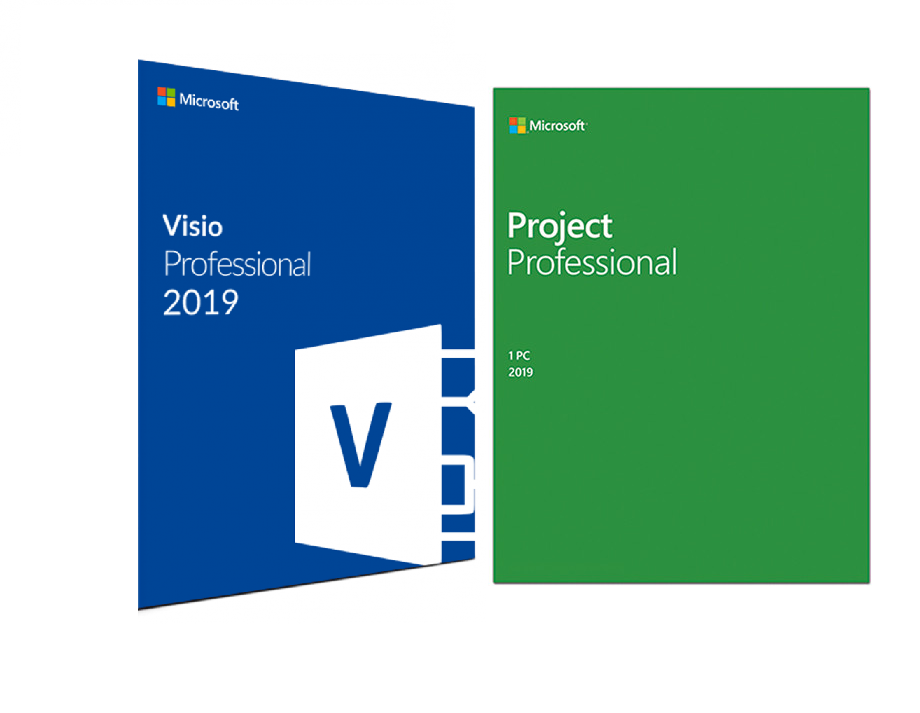 MS Project Professional 2019 and Microsoft Visio PRO 2019 FOR 1 PC GENUINE 3