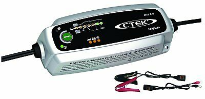 CTEK MXS 3.8 Multi-Functional 7-Stage Battery Charger, 12V 3.8 Amp (EU Plug) 5