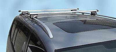MPE 120cm Lockable Aluminium Car Roof Rack Rail Bars for Renault Laguna Estate