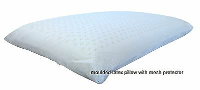 Bamboo Latex Foam Pillow Bamboo Fabric Cover Contoured/Standard Shapes