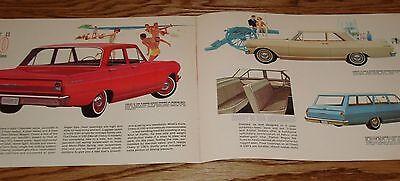 Original 1962 Chevrolet Chevy II Sales Brochure 62 Nova 400 300 100 Wagon