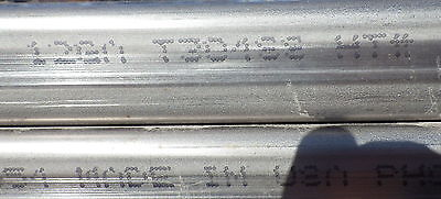 """12ga. By the ft 1.5/"""" X 3/"""" Rectangle Stainless Steel Rectangular Tubing 0.105"""