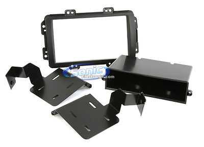 Scosche HA1572B Single DIN Install Dash Kit w// Pocket for 2002-05 Honda Civic SI