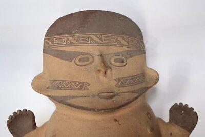 Precolumbian Cuchimilco female figure, Chancay Culture, Peru, c1200-1400AD 2