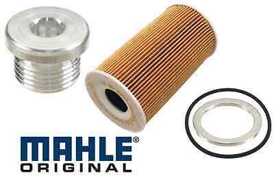 Mahle Engine Oil Filter Drain Plug Porsche 911 Boxster Cayman Cayenne Carrera