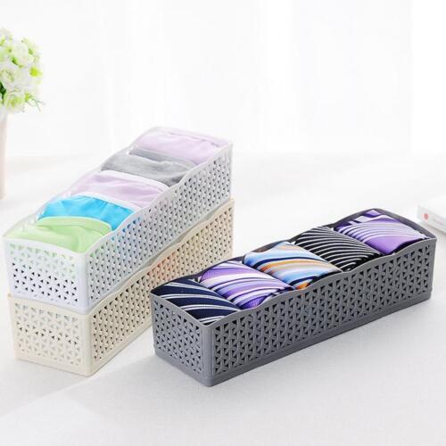 5 Slot Aufbewahrungsbox Krawatte BH Socken Schublade Kosmetikteiler Organizer JO