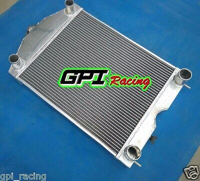 """2x1""""up to 700HP Ford 2N/8N/9N tractor w/flathead V8 engine aluminum radiator"""