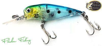 Fladen Wobbler Set Hecht angeln Köder 16cm 14,5g 2 Stück