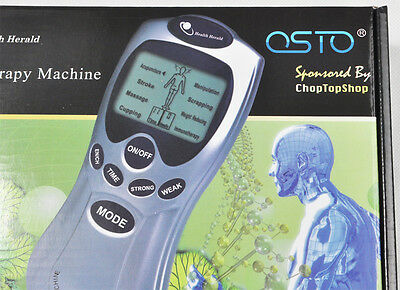TENS Machine Unit Pain Relief Massager ACUPUNCTURE +Extra PADS BUNDLES Physio 12