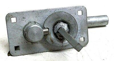 New Old Stock Vintage Gravity Latch/lock  For Overhead Garage Door Sets Dm 5