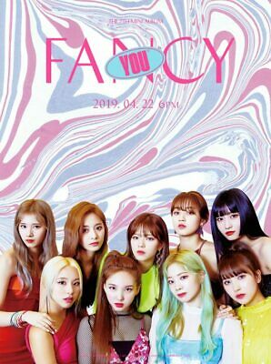 US SHIPPING Twice FANCY YOU Album B Ver. CD+Poster+Book+Card+etc+Gift 4