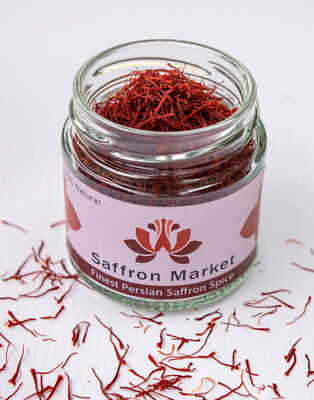 5 grams Pure Premium Quality Saffron Threads Highest Grade All Red Negin 2