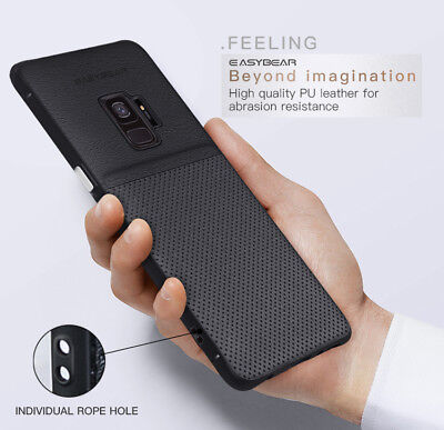 Fits Samsung Galaxy Luxury Leather Ultra-Thin Slim Hard Protective Case Cover 8