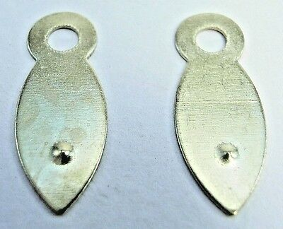 Picture Frame Clips Turn Buttons 19mm Brassed Framing Choose Quantity 10