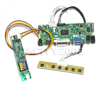 LCD led Controller Driver Board Kit for LTN141W1-L02 1280X800 HDMI+DVI+VGA