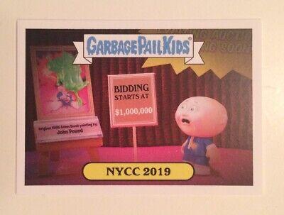 NYCC 2019 Topps Garbage Pail Kids Promo Trading Card Collectible Pair 2