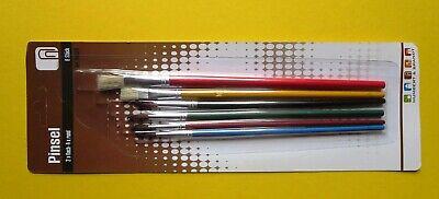 IKEA Pinsel 6er-Set Kinderzimmer Malen für Kinder Hobby Kreativität
