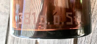Apotheker -  sehr schöne Glaskappenflasche - BROM  -sehr selten - Gruseldeko 10