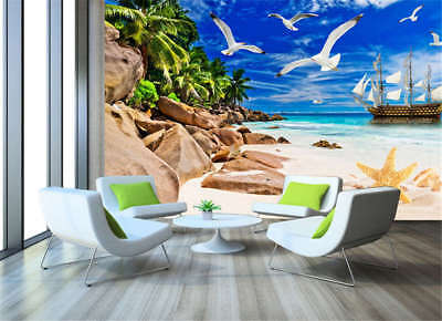 Coherent Blue Dove 3D Full Wall Mural Photo Wallpaper Printing Home Kids Decor