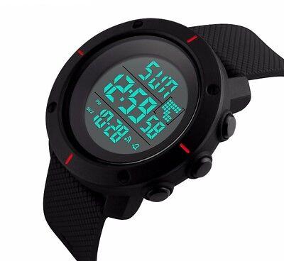 Fashion Men's LED Date Waterproof Digital Quartz Military Army Sport Wrist Watch 4