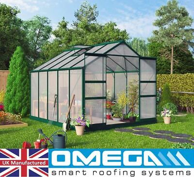 4mm Polycarbonate Sheet | Greenhouse Replacement Panels + Glazing Clips W / Z 3